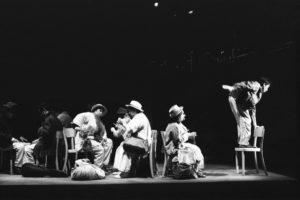 La Partenza, Théâtre de l'esquisse, Genève