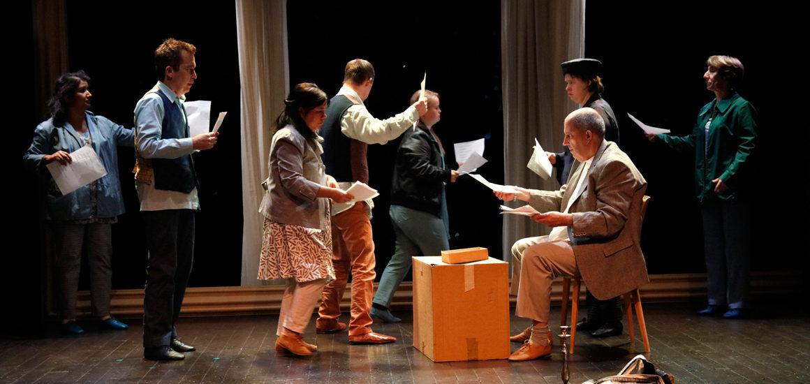 Les fileuses, la porte et le messager, Théâtre de l'Esquisse, Genève