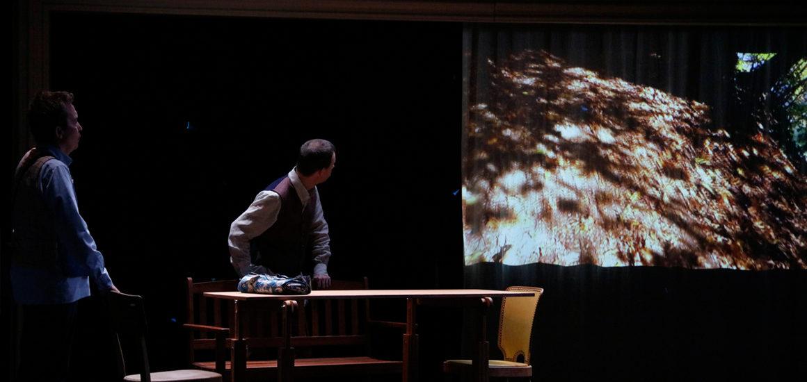 Les fileuses, la porte et le messager,Théâtre de l'Esquisse, Genève
