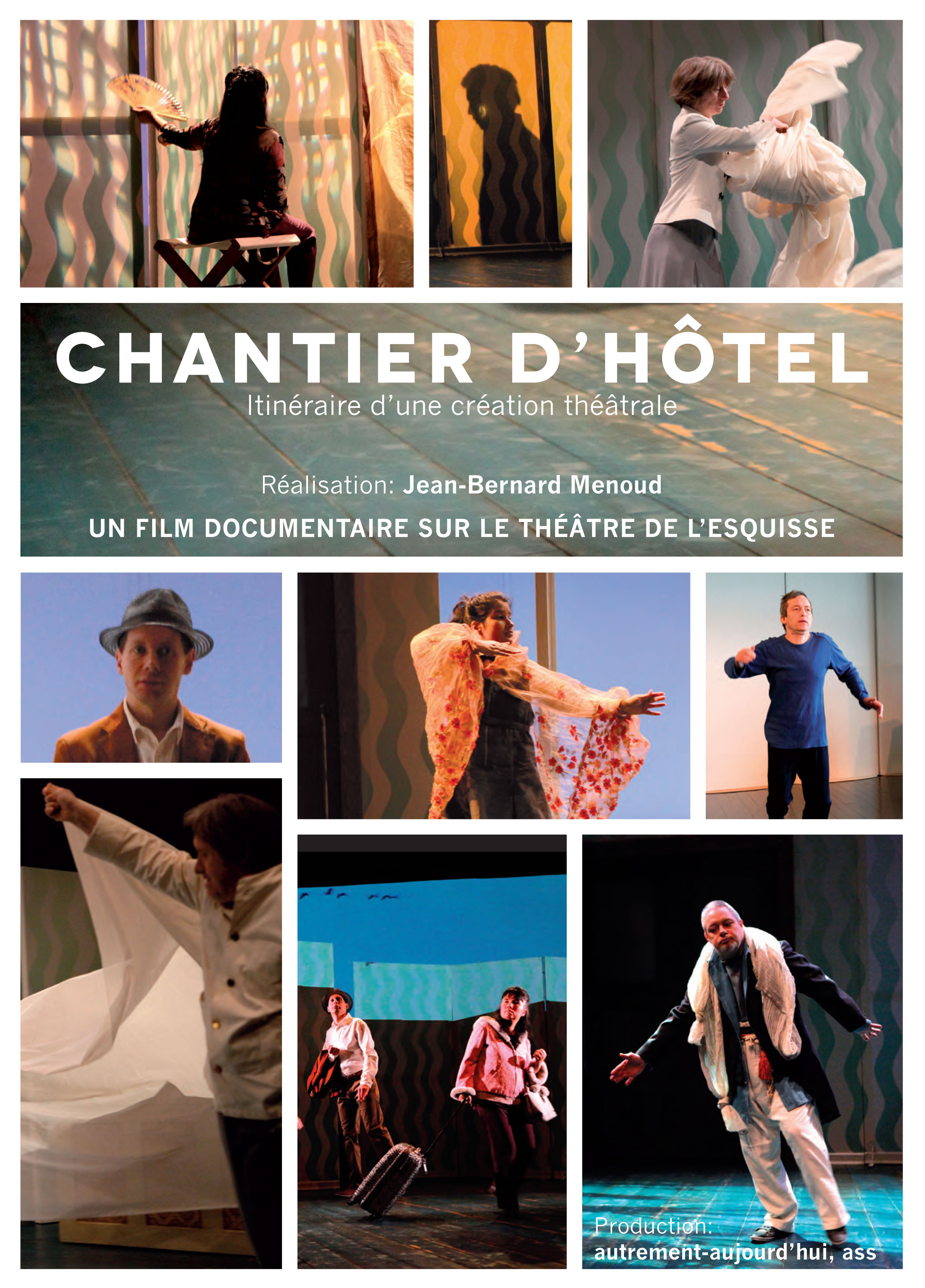 Chantier Hôtel, Flyer, Théâtre de l'Esquisse, Genève