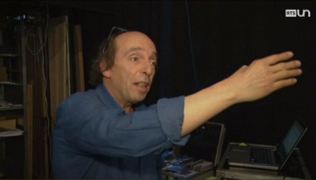 Gilles Anex - Les metteurs en scène - Théâtre de l'esquisse, Genève