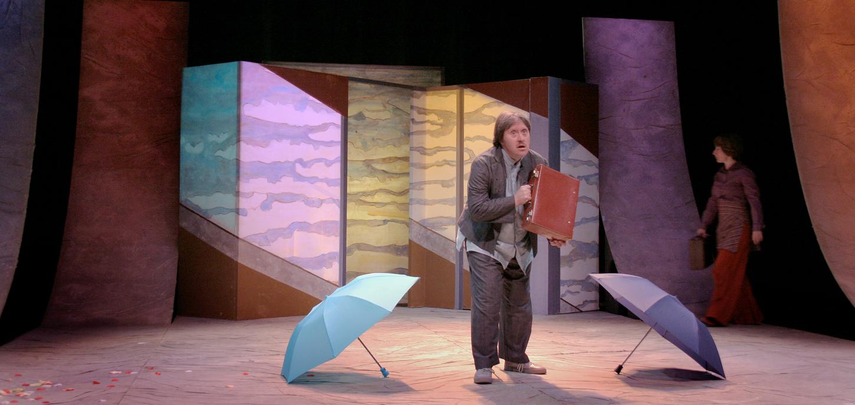 Le Rêve des petites valises, Jutzeler, Théâtre del'Esquisse, Genève